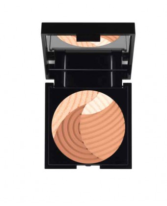 Cream & glow bronze compact powder